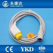 Бесплатная доставка Для Nihon Kohden ibp кабель-адаптер для appott преобразователя Кабель-адаптер, 14Pin> 6P6C Jack