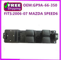 NEW OEM GP9A-66-350 GP9A66350 LH LEFT DRIVER SIDE FRONT DOOR POWER WINDOW SWITCH 2006-07 for MAZDA SPEED6