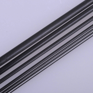 black Carbon fiber bar straight length 200mm diameter 2mm 4mm hardness light