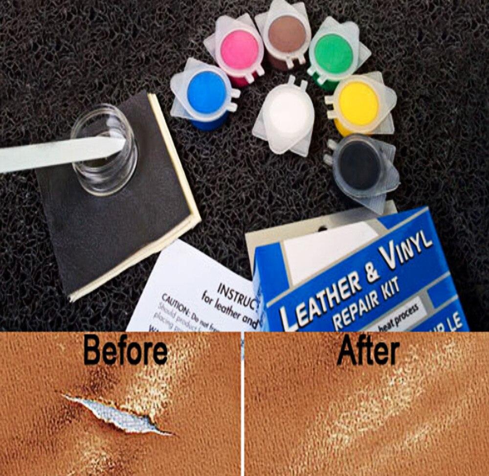 Auto Vinyl Seat Repair Kit Skill Floor Interior