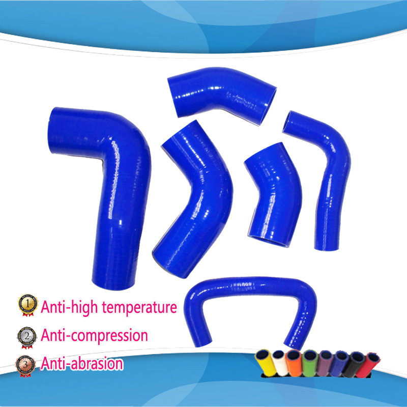 For Mitsubishi Lancer Evolution  EVO 7 8 9 CT9A silicone Turbo Intercooler hose kit