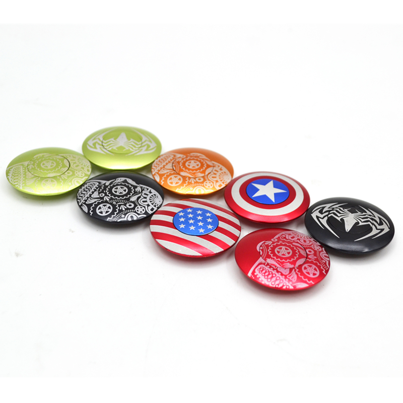 Top Cap Headset Cover With Bolt 28.6Mm Of Captain America Spider Logo