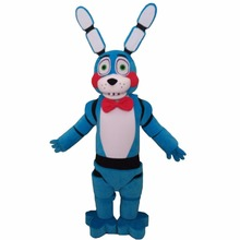 Custom Made Five Nights At Freddy's FNAF Toy Bonnie Blue Mascot  Christmas Party Mascot Birthday Gift Mascot Costume L0713