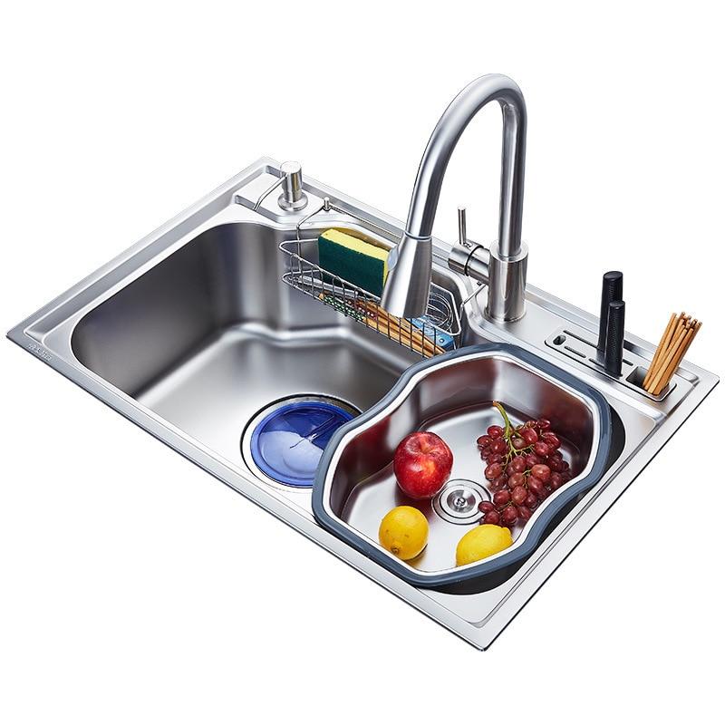 FLASH SALE) Kitchen Sink Above Counter Or Udermount Sinks ...