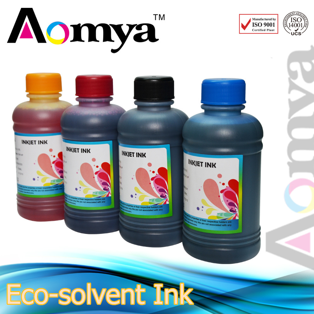 250ml 6C Dye Based Eco solvent Ink For Epson 1400 1390 A1430 Printer for Paper