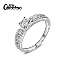 Fashion Wedding Ring Style Luxury Engagement Jewelry With AAA CZ Women Ring Design Knot Ring For
