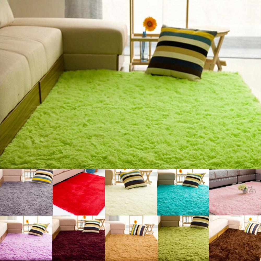 80 120cm alfombras carpets 11 colors gold velvet tapis - Alfombras para casa ...