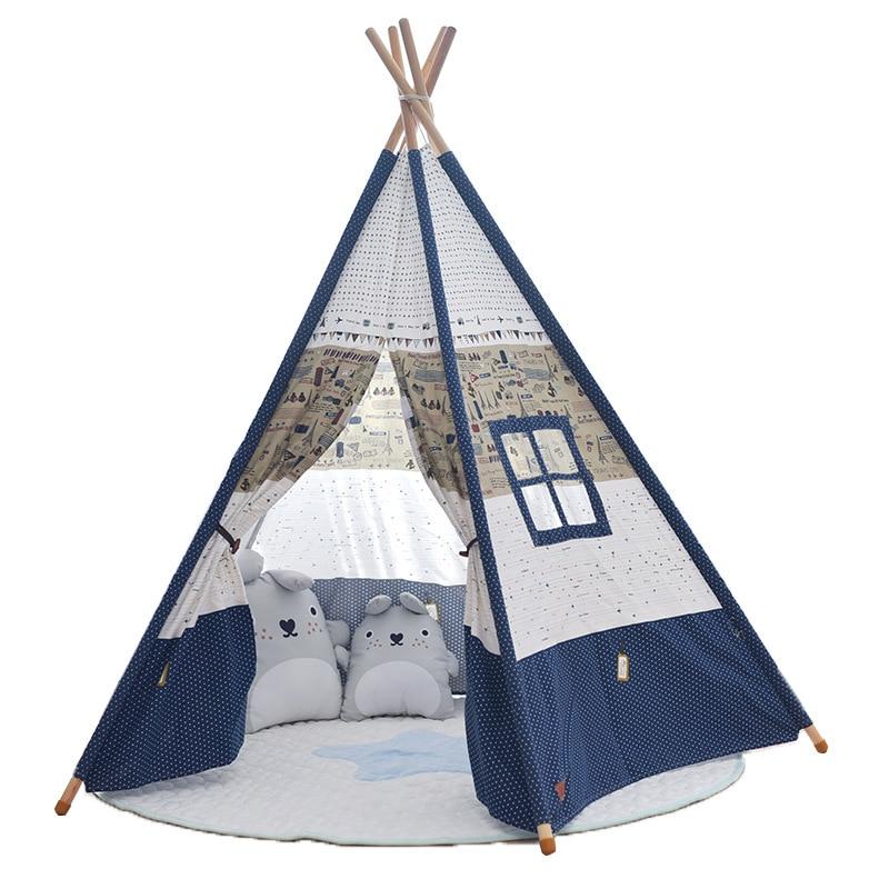 Tente pour enfants en plein air jeu surdimensionné maison bébé jouet princesse enfants photographie accessoires pliant Playtent