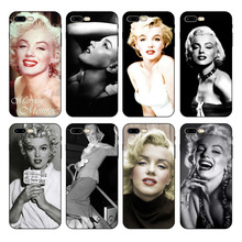 HOUSTMUST Marylin Monroe Soft Silicone Phone Cover Case For iPhone 8 8plus XS max XR 7 7plus 6 6s 6plus 5 5s phone case