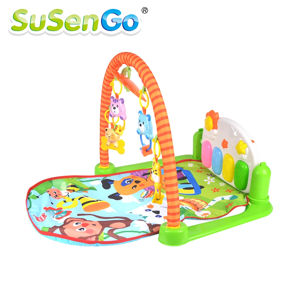 ФОТО Baby Soft Play mat Game Blanket Pad Baby Play Activity Gym Fitness Frame Educational Baby Toys Climb Mat Crawling