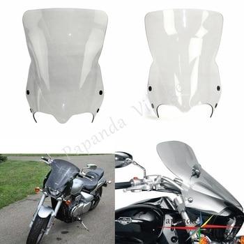 Motorcycle Smoke Clear Black Wind Screens Protection Windshield Deflectors for Suzuki Boulevard M109R Boss M109R2 M50 M90 06-16