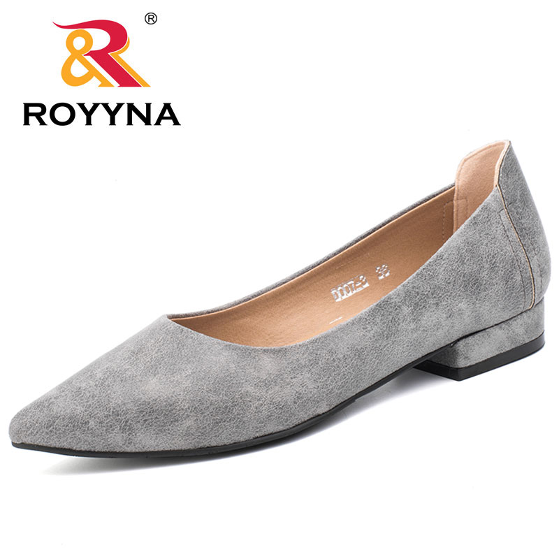 Royyna Royyna Royyna 2017 New Loafers Damens Pointed Toe Flexible Casual Fashionable Popular Wo 45f68a