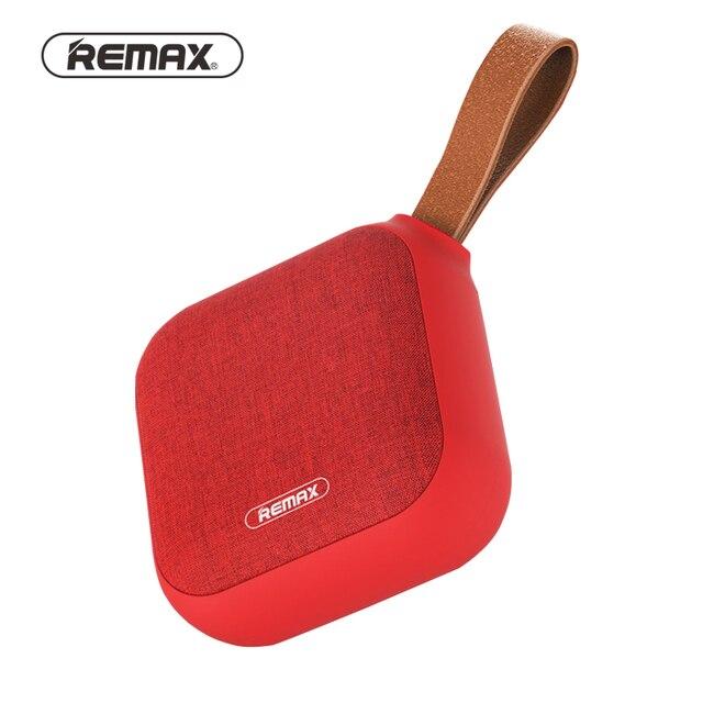 Remax Portable fabric Bluetooth Speaker HD/HiFi/NFC/TF Wireless waterproof Mini 5W bass loudspeaker 3D surround for phone/laptop