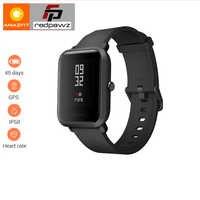 """Angielska wersja HUAMI Amazfit inteligentny zegarek młodzież Bip BIT tempo lite 32g ultralekki ekran 1.28 """"wodoodporny kompas GPS"""