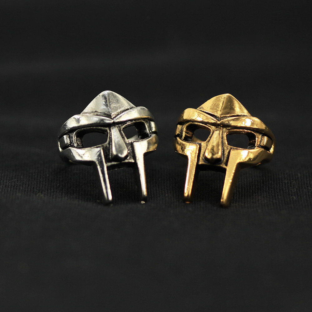 2019 New Design Jason Mask Ring Retro European And American Personality Ring