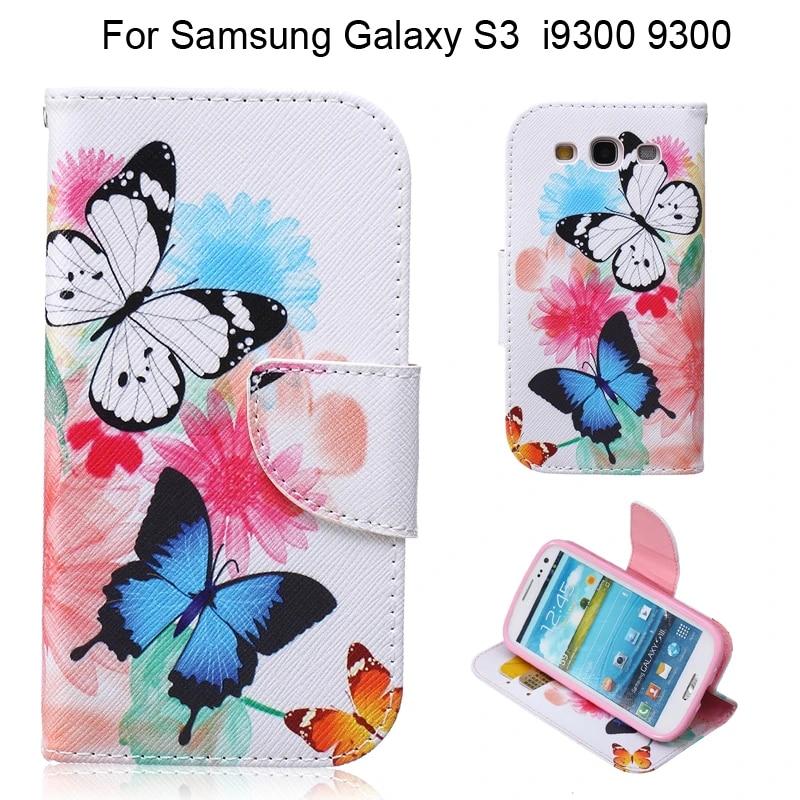 Flip Cover Case For fundas Samsung Galaxy S3 Neo Case SIII i9300i for coque Samsung Galaxy S3 Case Cover Card Holder
