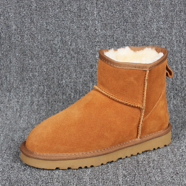 ankle women boots 2018 Australia Women Boots Warm Winter Snow Boots Women Internal Plush Slip-on Quality Non-slip Size 35-44