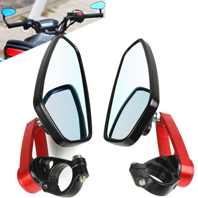 Motorcycle Bar end Mirror Rear View Rearview Mirror For Ducati Monster 821 Scrambler 400 2014-2019 2016 2015 2016 Accessories