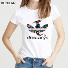 dracarys shirt game of throne t women clothes 2019 vogue tshirt femme graphic tees female t-shirt streetwear tops