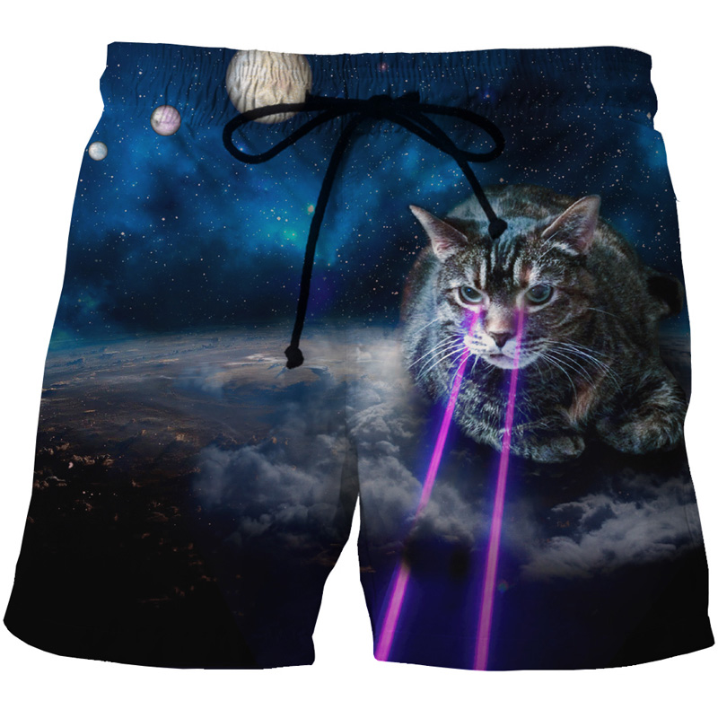 d8ef1ccaa1 Swim Ouxioaz Boys Swim Trunk Galaxy Taco Cat Pizza Beach Board Shorts