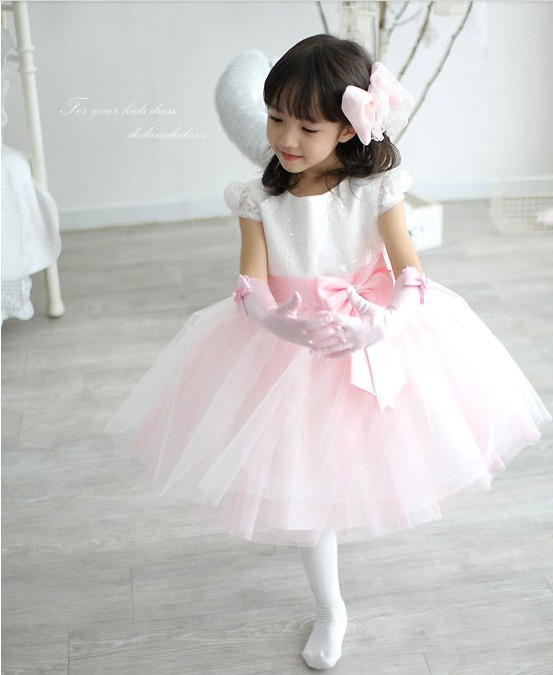 Wedding Dress For Flower Girl Evening Kids Princess Baby Designer Clothes In Dresses From Weddings Events On