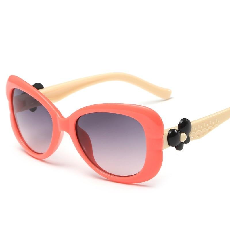 Baby Girls Kids font b Sunglasses b font Brand Designer Cute Lovely Eyewear UV400 Shades Googles