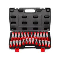 25pcs High Quality Terminal Detacher Line Disassembly Tool Car Harness Plug Unlock Tool Retractor Tool
