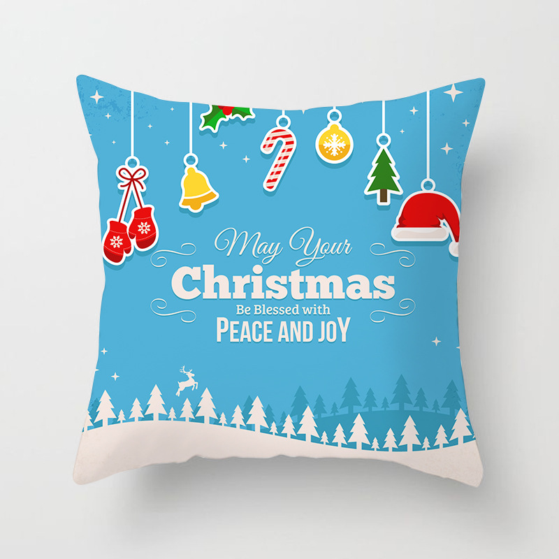 Merry Christmas Decorations For Home Decoration Noel 2018 Christmas Ornaments Christmas 2018 Decor Pillow Case Gifts Xmas Decor  (14)