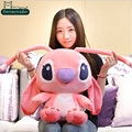 Dorimytrader 22'' / 55cm Japan Anime Stuffed Soft Plush Giant Cartoon Stitch Toy 2 Colors and Nice Gift Free Shipping DY60709