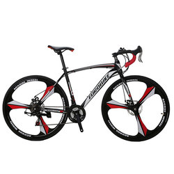 Cyrusher XC550 Racing Road Bike 700Cx28C Steel Frame 21 Speed 27.5