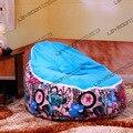 FRETE GRÁTIS tampa de assento do bebê com 2 pcs up covers tampa apenas saco de feijão bebê saco de feijão cadeira beanbag bebê móveis