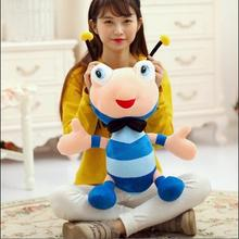WYZHY  Cute ant bee doll plush toy mascot gift doll pillow to send girlfriend children gift   50cm цены