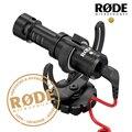 Rode videomicro compacto on-gravação da câmera lumix microfone para canon nikon sony câmera dslr microfone osmo dji