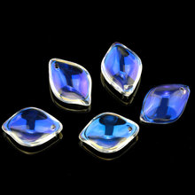 Super shiny 13x18mm leaf shape crystal beads Austria glass charms for Jewelry DIY  jewelry accessories 10pcs/lot