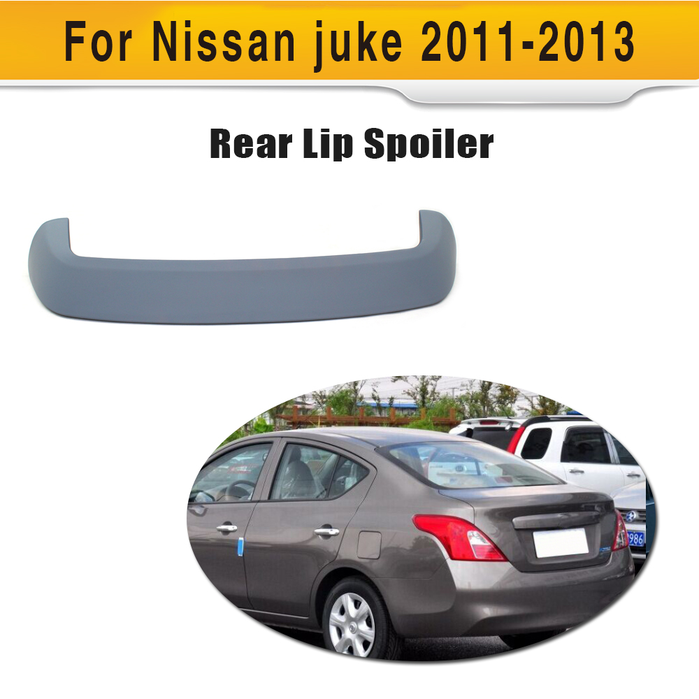 ABS car roof wing lip spoiler for Nissan Juke 2011 2013