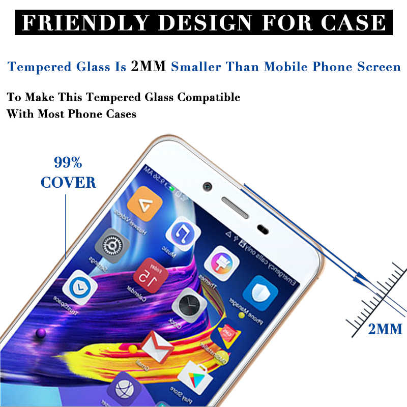 Tempered GLass for honor 8x max 8c 8 x c lite screen protector for huawei x8 c8 8lite Protective case for honor 8c 8 lite film