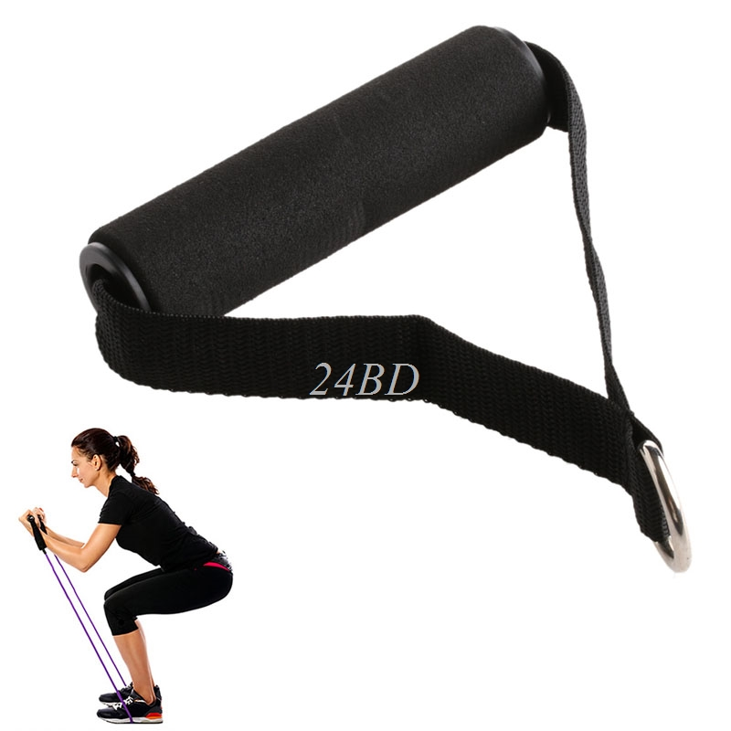 Tricep Rope Cable Attachment Handle V Bar Dip Station Resistance Exercise Sport For Yoga Belt Gym 2PCS/SET S26