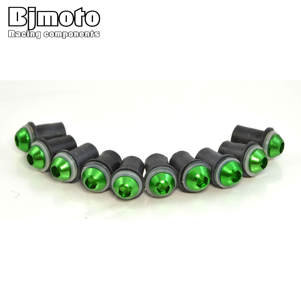 BJMOTO Motorcycle Windscreen Windshield Bolts Screws Kit For Yamaha XJ600 XJ900 XJ400 XT600 R1 R6 R3 R25