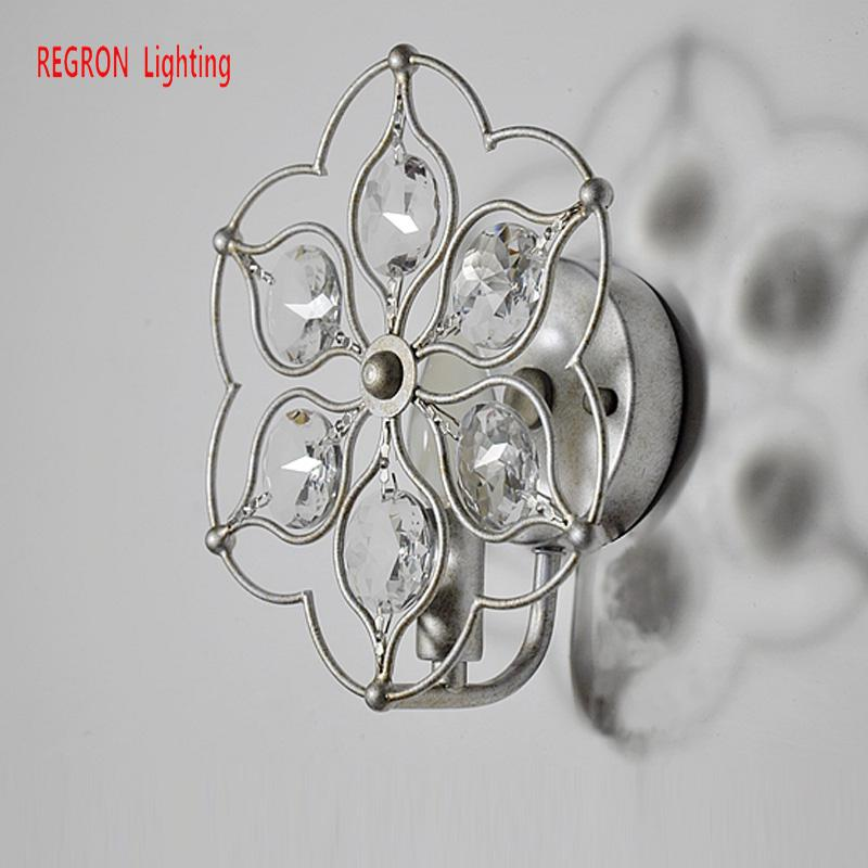Regron Retro Ceiling Lights Creative American Classical Ceiling Lamp Art Deco Crystal Iron Bedside Lamp For Aisle Bedroom LoungeRegron Retro Ceiling Lights Creative American Classical Ceiling Lamp Art Deco Crystal Iron Bedside Lamp For Aisle Bedroom Lounge