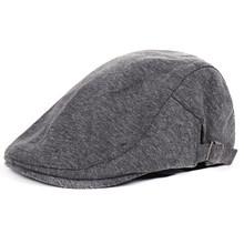 Lato Retro męska czapka ultra-cienkie oddychające berety dla mężczyzn kobiety eleganckie damskie kaszkiety Beret panie para kapelusz czapki imprezowe tanie tanio ISHOWTIENDA COTTON Dla dorosłych Unisex Stałe Na co dzień