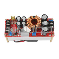 1500W Power Supply Module DC10 60V To 12 90V 20A Power Converter Adjustable Voltage Regulator DC