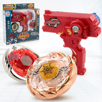 2 stks Gyro Speelgoed Kit Leo Stijl Beyblade Metalen Spinning Tops Gyro Fusion Gift Limited Edition Kinderen Spel Speelgoed