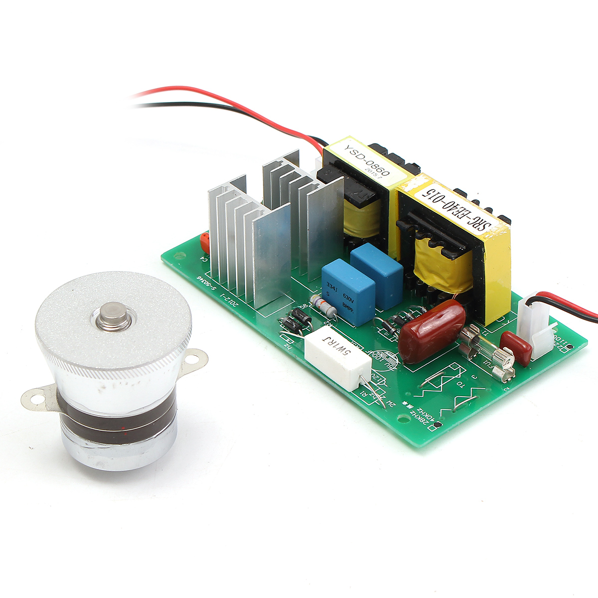 Ultrasonic Cleaning Transducer Cleaner 110VAC 50W 40KHz Power Driver Board Cleaning Transducer Ultrasonic Cleaner Parts