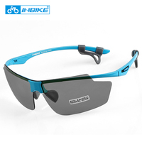 INBIKE 16g Polarized Cycling Glasses Outdoor Sport Running Sunglasses Windproof Goggles Men Women Motorcycle Bikes Eyewear