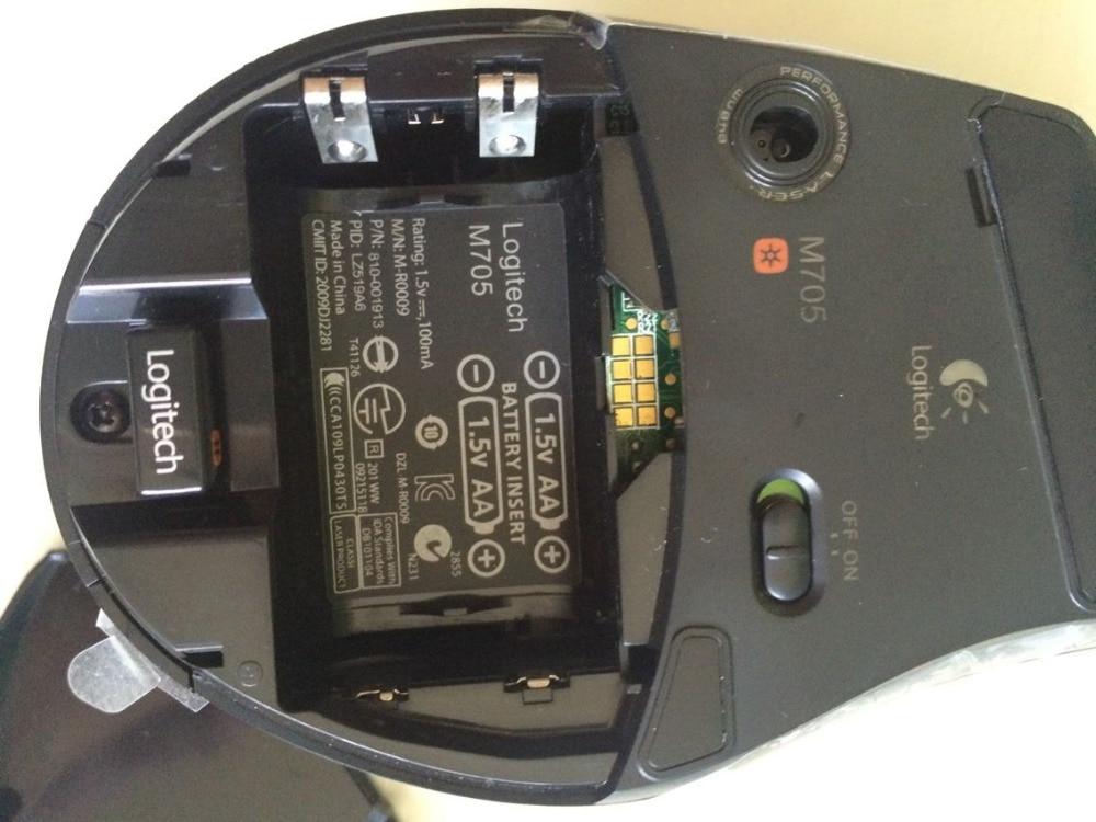 Logitech M705 laser sans fil grande souris ordinateur portable USB double mode roue rapide - 4