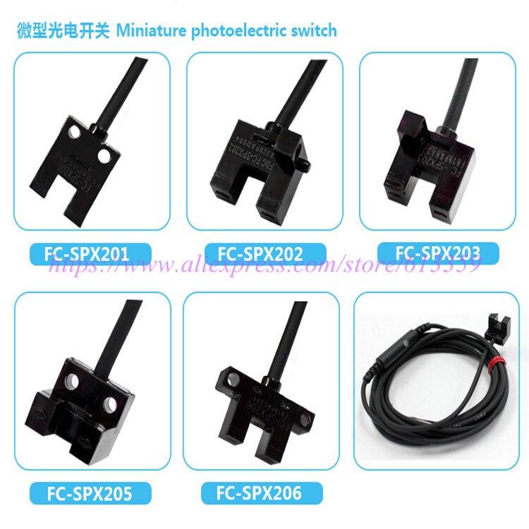 FC-SPX201 202 203 205 206 Small U shape photo sensors New OriginalFC-SPX201 202 203 205 206 Small U shape photo sensors New Original