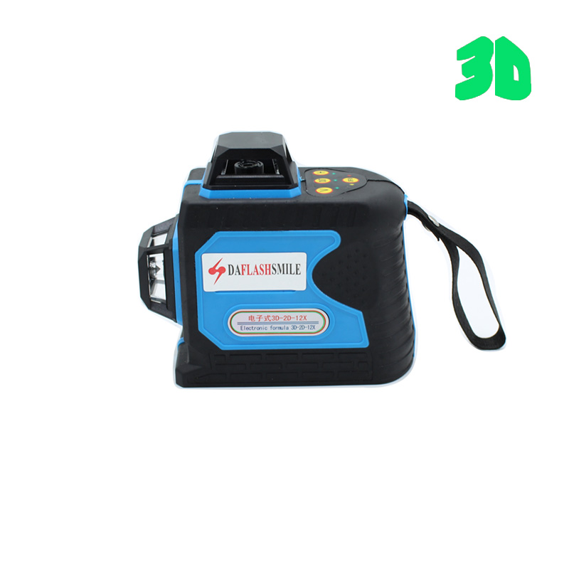 Electronic Balance 3D 12 Lines Laser Level Self Leveling 360 Horizontal Vertical Cross Super Powerful Green Laser instrument