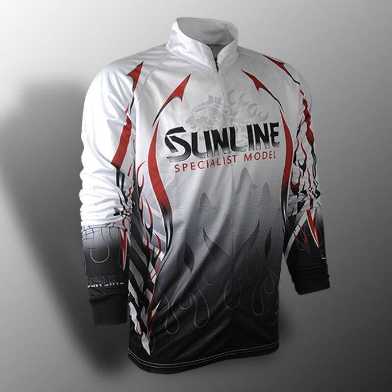 2018 New Fishing Vests Fishing Clothing Quick-Drying Fishing Shirt Sun Jacket Sports Clothes Fishing Clothes
