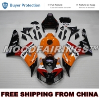 ABS Injection Fairings Kits For Honda Motorcycle CBR1000RR 2006 2007 Fairing Body Work ORANGE REPSOL