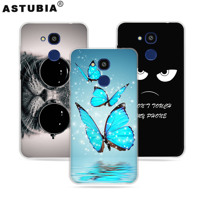 ASTUBIA sFor Vernee M5 Case Silicone Hard TPU Cute Dog Phone Cover sFor Vernee M5 Cover For M5 Vernee Case Coque Fundas 5.2'